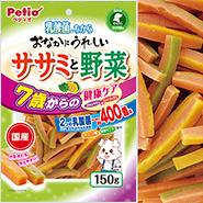 おなかにうれしい ササミと野菜 7歳からの健康ケア 150g